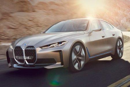 BMW i4 elettrica