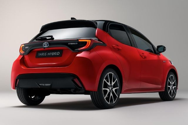 Toyota Yaris 2020: Esterno posteriore