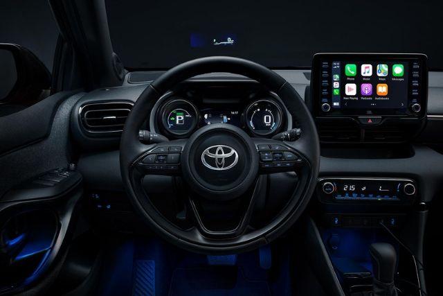 Toyota Yaris 2020: interno