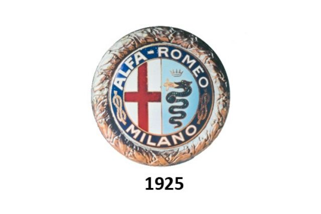 Alfa Romeo: logo del 1925