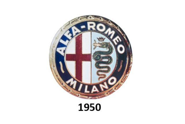 Alfa Romeo: logo del 1950