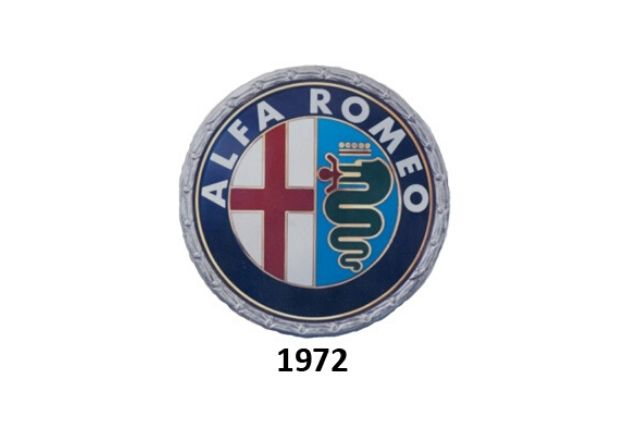 Alfa Romeo: logo del 1972