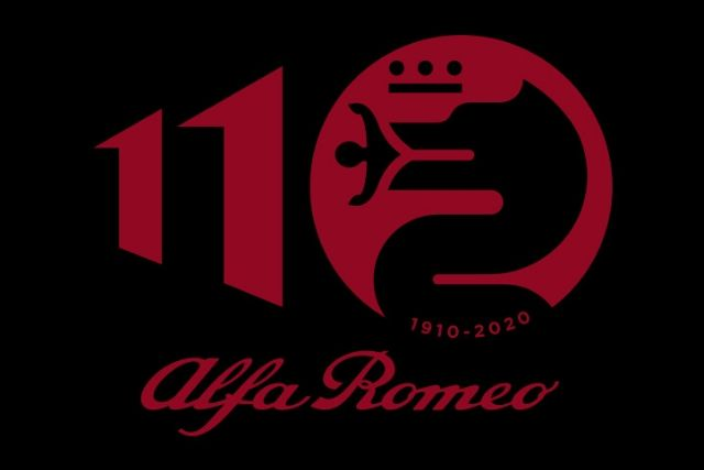 Logo Alfa Romeo 110 anni