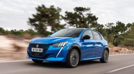 Peugeot 208 elettrica noleggio a lungo termine