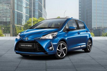 Toyota Yaris Hybrid noleggio a lungo termine