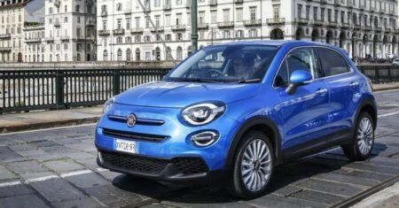Fiat 500X noleggio auto aziendale a lungo termine