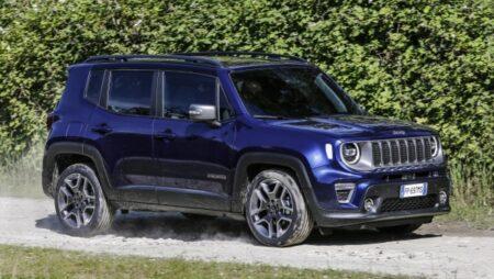 Jeep Renegade dimensioni