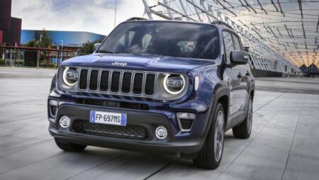 Jeep Renegade: dimensioni, allestimenti e noleggio a lungo termine