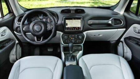 Jeep Renegade interni