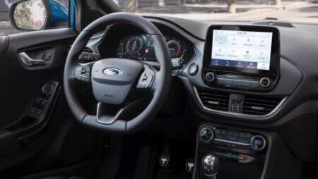 Ford Puma Hybrid interni