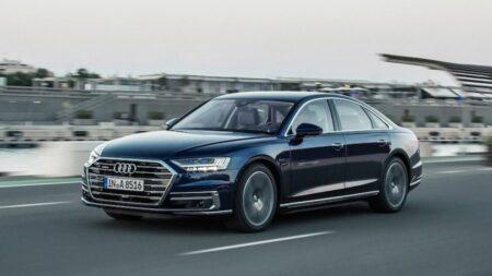 Audi A8 auto di lusso di rappresentanza noleggio lungo termine